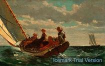 Winslow Homer, sailing by artokoloro