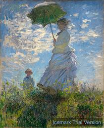 Claude Monet Woman Parasol Madame Monet & Son by artokoloro