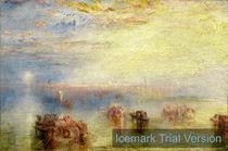 Turner, Approach to Venice Italy by artokoloro