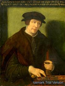 Antwerp 16th Century, Portrait of an Almoner of Antwerp by artokoloro