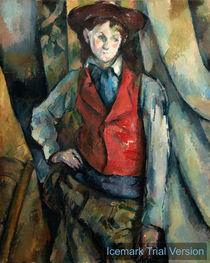 Paul Cézanne, Boy in a Red Waistcoat by artokoloro