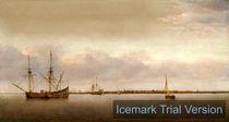 Abraham de Verwer, View of Hoorn Netherlands by artokoloro