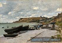 Claude Monet, Sainte-Adresse Landscape by artokoloro