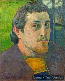Paul Gauguin, Self-Portrait by artokoloro