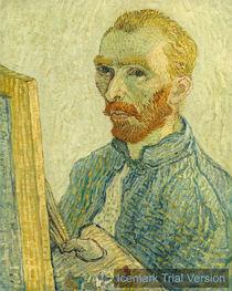 Imitator of Vincent van Gogh, Portrait von artokoloro
