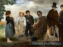 Edouard Manet, The Old Musician by artokoloro