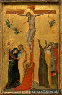 Bernardo Daddi, The Crucifixion, c. 1335 von artokoloro