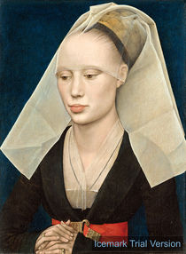 Rogier van der Weyden, Portrait of a Lady by artokoloro