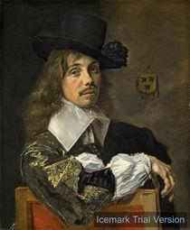 Frans Hals, Portrait Willem Coymans von artokoloro