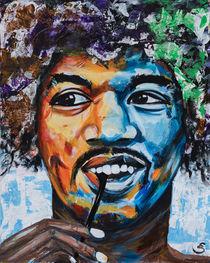 Jimi Hendrix von Eva Solbach