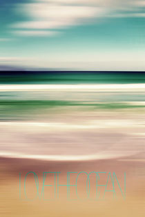 LOVE THE OCEAN IV by Pia Schneider