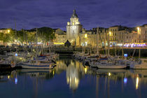 La Rochelle at night by Steve Mantell