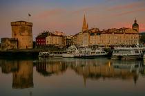 Sunrise over La Rochelle harbour by Steve Mantell