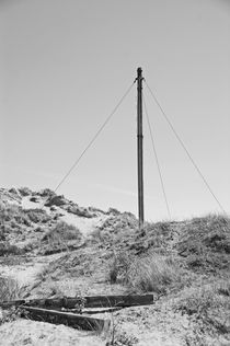 FORMBY. The Old Signal Flagpole. by Lachlan Main