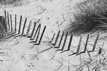 FORMBY. Fence In The Dunes. von Lachlan Main