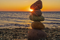 Sonnenuntergang Fehmarn von Stephan Zaun