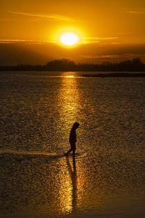 Der Gang durchs Meer von Stephan Zaun