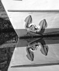 An der Ruhr verankert by Peter Hebgen