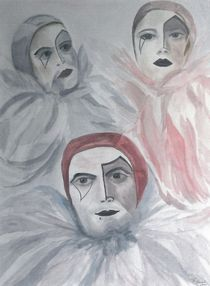 masked ball by Beate Horváth