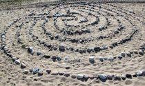 Kunstwerk aus Steinen von assy