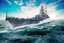 Kriegsschiff von Sven Bachström