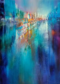 Urban landscape by Annette Schmucker