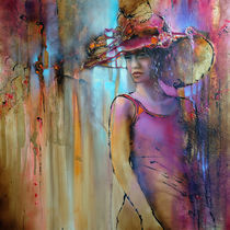 Laura mit Hut by Annette Schmucker
