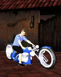 Motorrad von Conny Dambach