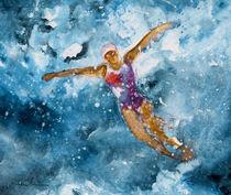 The Art Of Butterfly Swimming von Miki de Goodaboom