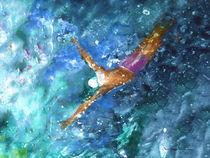 The Art Of Butterfly Swimming 02 von Miki de Goodaboom