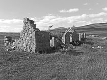 Rannoch Moor the ruined farmhouse. von Lachlan Main