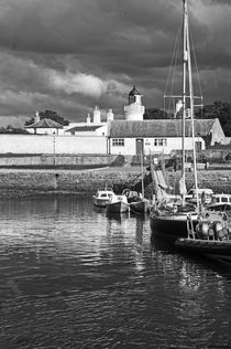 CROMARTY. Stormclouds Over The Harbour. by Lachlan Main