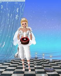 Geburtstag Engel, von Conny Dambach
