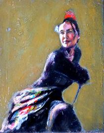 Resting Flamenco Dancer von Renuka Pillai