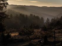 Sonnenuntergang auf der schwäbischen Alb von Markus  Stocker