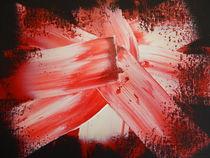 SPACE CRYSTALS--RED von William Birdwell