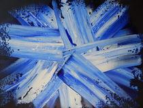 SPACE CRYSTALS--BLUE by William Birdwell
