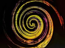 Colored Swirl von Peter Hebgen