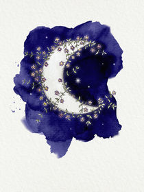 Flower Moon by Sybille Sterk