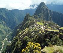 Inka-Tempelanlage Machu Picchu von Sabine Radtke
