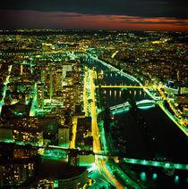 PARIS. Aussicht auf die Stadt vom Eiffelturm_1. von li-lu