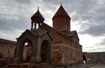 The ancient Khor Virap Monastery in Armenia by ambasador
