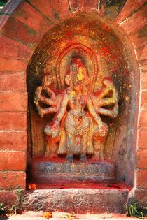 Hinduistische Verehrungsstätte by Peter Holle
