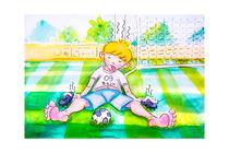 Baju: Zu viel Fußball gespielt by Peter Holle