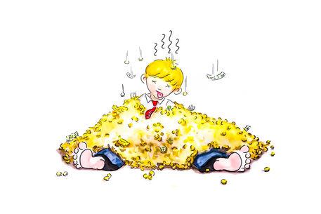 Baju-geld-und-gold