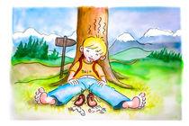 Baju: Zu viel gewandert.  by Peter Holle