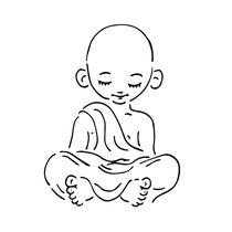 Der kleine Buddha by Peter Holle
