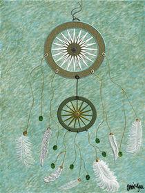 Traumfänger - Dreamcatcher von art-and-design-by-debbie-lynn