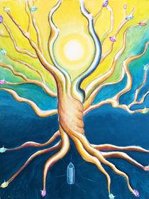 Crystal Tree by Petra Pele Brockmann