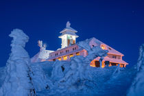 Winter auf dem Fichtelberg von Astrid Steffens